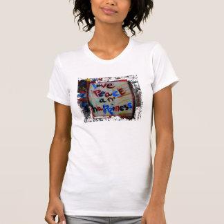 愛平和および幸福 Tシャツ