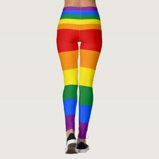愛平等の虹の旗LGBTのレズビアンゲイプライド レギンス
