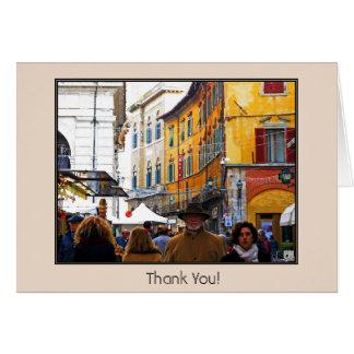 愛引用文の細道のピサの市場 カード