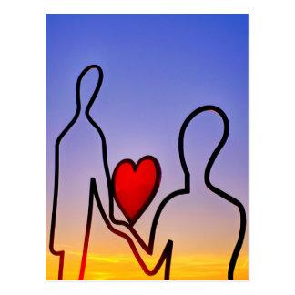 愛彫像 ポストカード