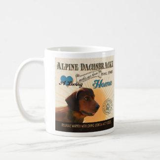 愛情のあるアーフェンピンシャーは私達の家の家を作ります コーヒーマグカップ