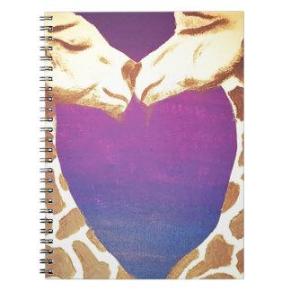 愛情のあるキリン ノートブック