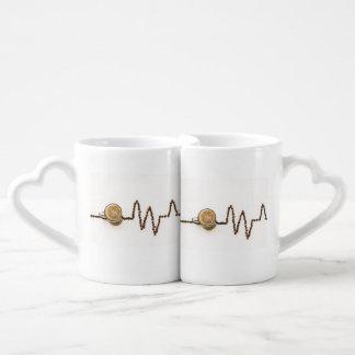 愛情のあるコーヒー ペアカップ