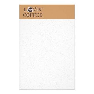 愛情のあるコーヒー 便箋