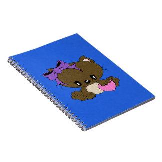 愛情のある子猫 ノートブック