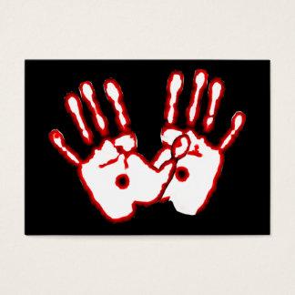 愛情のある手-ジョンの20:27地域カード/ 名刺