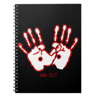 愛情のある手-ジョンの20:27 ノートブック