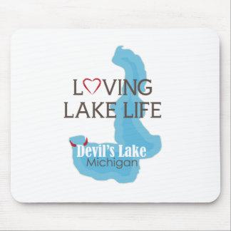 愛情のある湖の生命、devil's湖、ミシガン州 マウスパッド