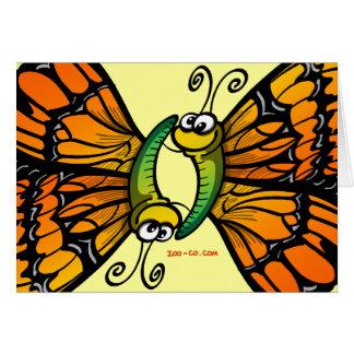 愛情のある蝶 カード