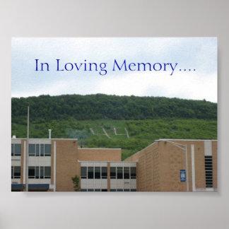 愛情のある記憶の44、…. ポスター