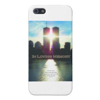 愛情のある記憶の9月11日 iPhone 5 COVER