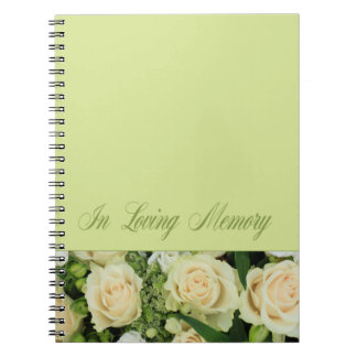 愛情のある記憶ゲストブック ノートブック
