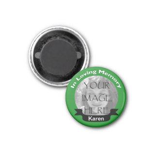 愛情のある記憶写真の緑の磁石 マグネット