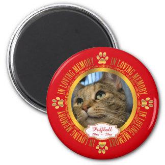 愛情のある記憶記念物の記念品の猫ペット マグネット