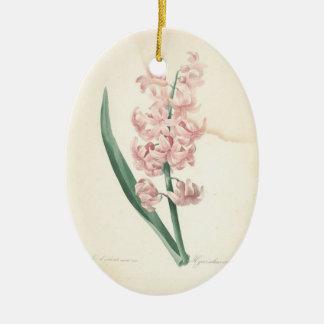 愛情のある記憶Hyacinthのカスタムな写真の記念物 セラミックオーナメント