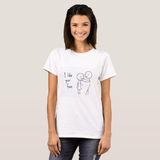 愛情深いバレンタイン、ガールフレンド/妻のTシャツ Tシャツ