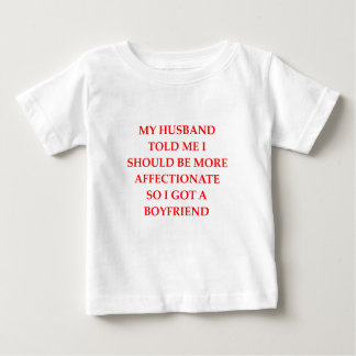 愛情 ベビーTシャツ