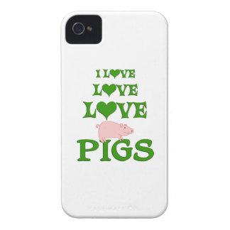 愛愛ブタ Case-Mate iPhone 4 ケース