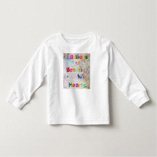 愛愛愛 トドラーTシャツ