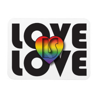 """""""愛愛""""は虹のハートの磁石です 柔らかいマグネット"""