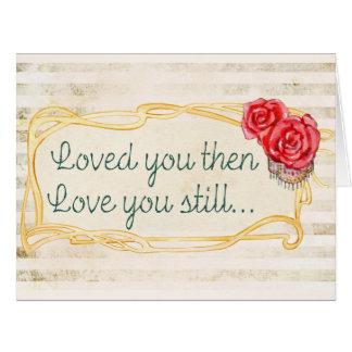 愛感動的な引用文 カード