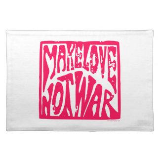 愛戦争ではなく ランチョンマット