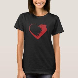 愛戦士のTシャツ Tシャツ
