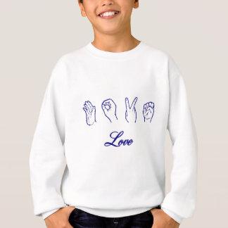 愛手の印 スウェットシャツ
