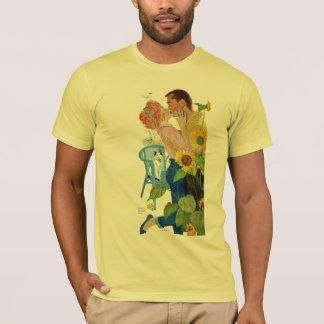 愛打たれる Tシャツ