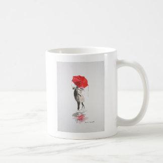 愛接吻のカップル コーヒーマグカップ