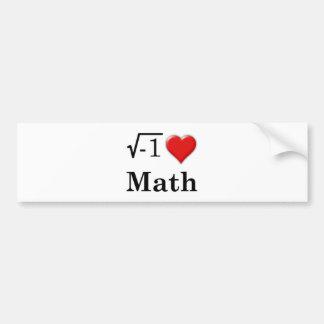 愛数学 バンパーステッカー