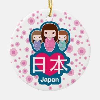 愛日本 セラミックオーナメント
