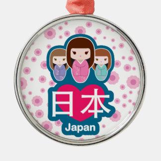 愛日本 メタルオーナメント