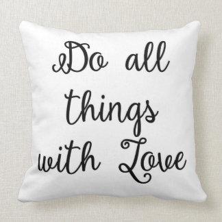 愛枕とのすべての事をして下さい クッション