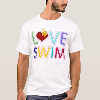 愛水泳 Tシャツ