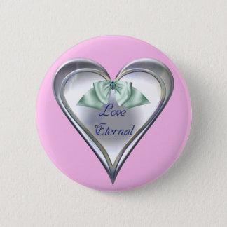 愛永遠のボタン 5.7CM 丸型バッジ