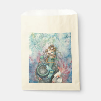 愛永遠の母および赤ん坊の人魚のファンタジーの芸術 フェイバーバッグ