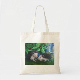 愛油絵のハリネズミ トートバッグ