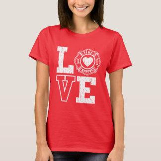 愛火および救助のワイシャツ Tシャツ