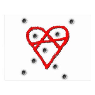 愛無秩序の記号 ポストカード