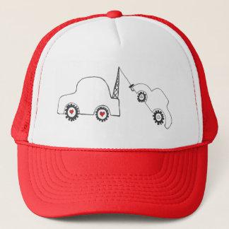 愛牽引のトラック運転手の帽子 キャップ