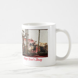 愛犬家のための採用メッセージ ベーシックホワイトマグカップ