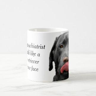 愛犬家のための黒いラブラドル・レトリーバー犬のコップ|のマグ コーヒーマグカップ