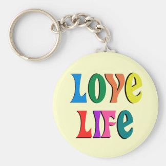 愛生命! カスタマイズ可能なキリスト教メッセージ キーホルダー