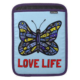 """""""愛生命"""" Ipadの柔らかい場合 iPadスリーブ"""