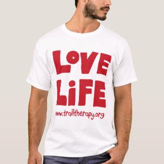 愛生命Microfiber WickingのTシャツ Tシャツ