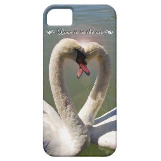 愛白鳥のiPhoneのケース iPhone SE/5/5s ケース