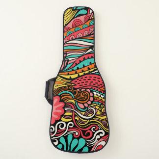 愛石の夏までにインスパイア素晴しいデザイン ギターケース
