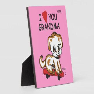 愛祖母 フォトプラーク