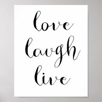 愛笑いの生きているポスター ポスター